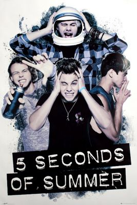5 Seconds Of Summer Headache 5SOS Poster
