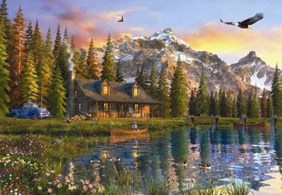 Oldlook Cabin - 2000pc Puzzle