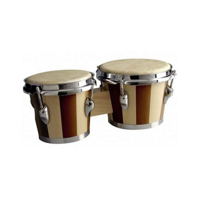 A-Star Two Tone Wooden Bongos