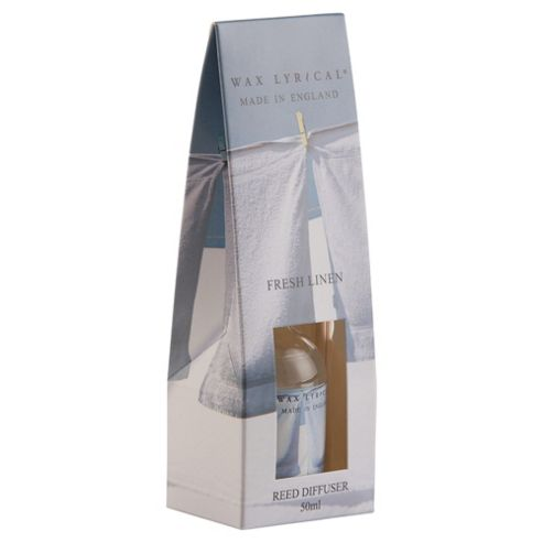 Wax Lyrical Made In England 50Ml Reed Disfuser Fresh Linen