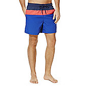 F&F Colour Block Swim Shorts - Blue