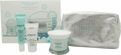 Payot Hydra 24+ Gift Set 50ml Crème Glacèe + 15ml Baume En Masque + 15ml Regard Glacon Roll On + Bag