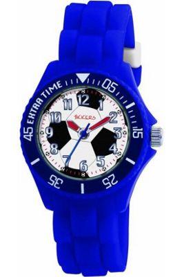 Peers Hardy Tikkers Children's Quartz Watch Blue/Football