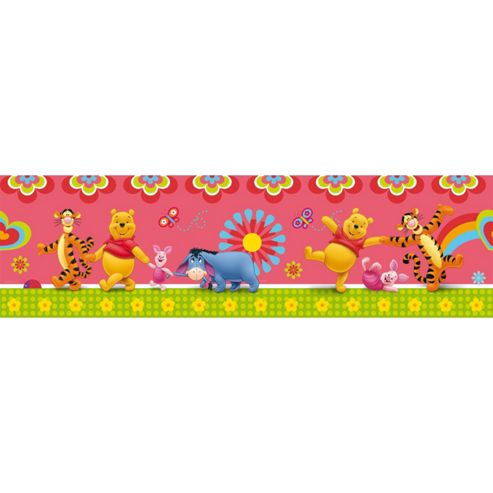 Disney Pooh Licious Wall Border Roll
