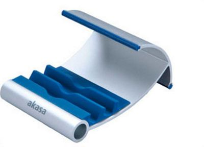 Akasa Tablet stand for iPad - Blue
