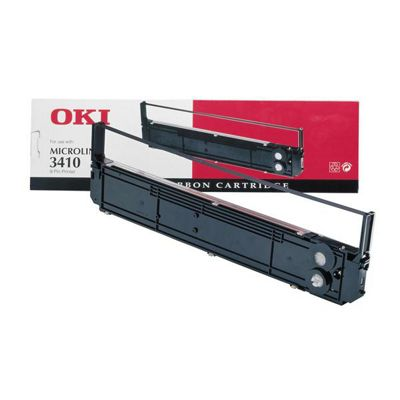 OKI Printer Ribbon for ML1310 9-pin Dot Matrix Printers (Black)