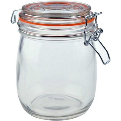 Argon Tableware Preserving / Biscuit Glass Storage Jar - 750ml
