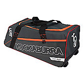 Kookaburra 2018 Pro 1500 Wheelie Cricket Holdall Duffle Duffel Bag Grey/Orange