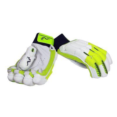Woodworm Glowworm Mega Cricket Batting Gloves - Boys Left Hand