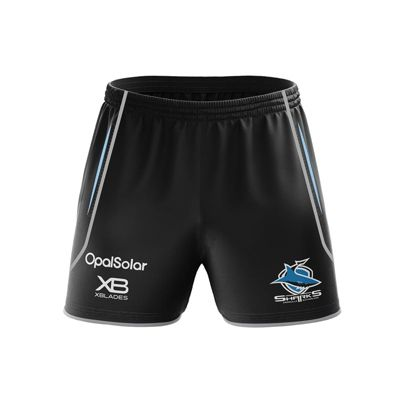 Xblades Cronulla Sharks NRL Training Shorts 2018 Size - S