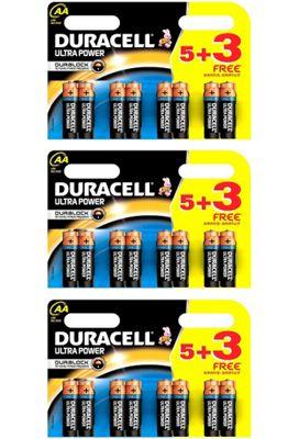24 x Duracell MX1500 Ultra Power AA Size Batteries