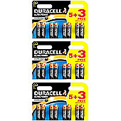 24 x Duracell MX1500 Ultra Power AA Size Batteries
