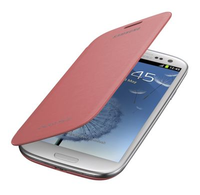 Samsung Original Notebook Style Flip Case Galaxy S3 - Pink