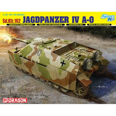 DRAGON 6843 Sd.Kfz162 Jagdpanzer IV L/70 A-0 1:35 Tank Model Kit