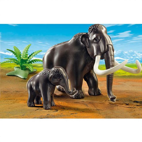 Playmobil Woolly Mammoth with Baby
