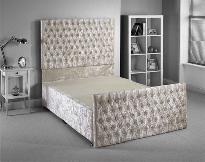 Luxan Provincial Bed Frame - Cream - Single 3ft - 2 Drawers
