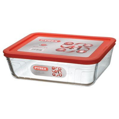 Pyrex 2 Litre Square Storage with Lid