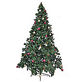 7ft Montana Pine Cone & Berries Christmas Tree