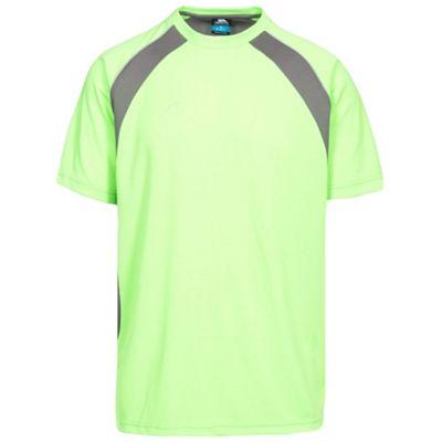 Trespass Mens Devan T-Shirt Green Gecko S