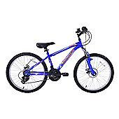 "Ammaco MTX400 24"" Wheel Front Suspension Boys Bike"
