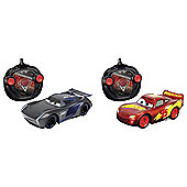 Cars 3 Next Generation McQueen v Jackson Storm Twin Pack 1:24 RC