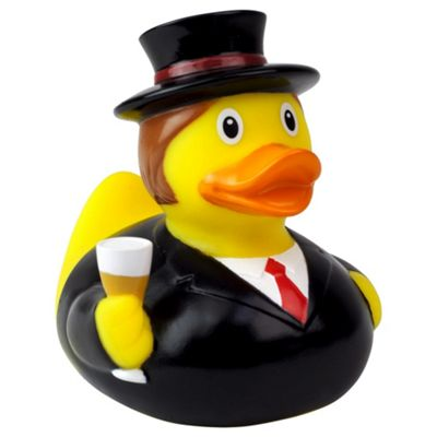 Lilalu Wedding Groom Rubber Duck Bathtime Toy