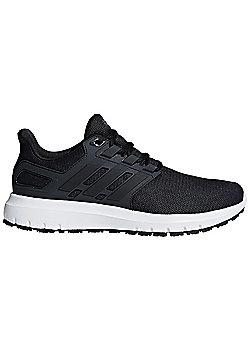 adidas Energy Cloud 2 Mens Neutral Running Trainer Shoe Black/Carbon - Black