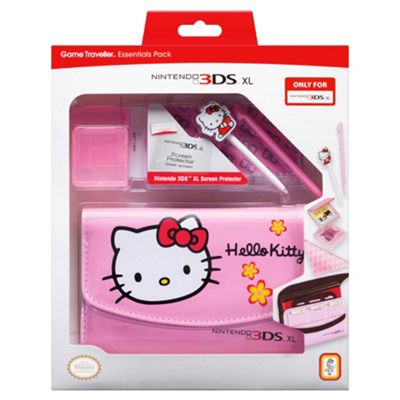 Nintendo 3DSXL Hello Kitty Essentials Pack