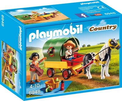 Playmobil Country Picnic with Pony Wagon 6948