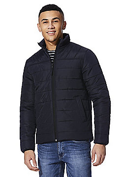 F&F Shower Resistant Puffer Jacket - Navy