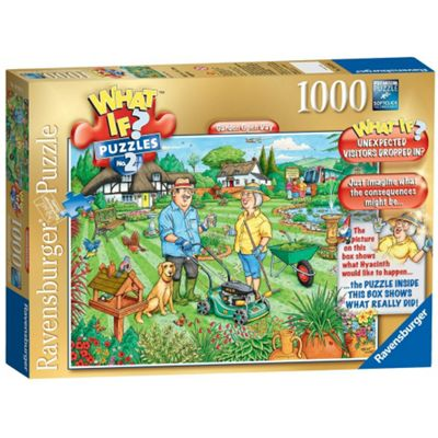 Ravensburger What If? Garden Open Day 1000-Piece Jigsaw Puzzle