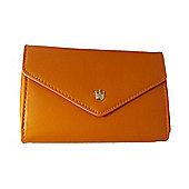 time2 Smartphone Wallet Style Phon Holder - Orange