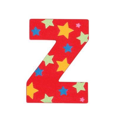 Bigjigs Toys Star Letter Z (Red)