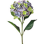 Parlane Large Artificial Lilac Hydranga Spray Flower Plant - 55 x 15cm