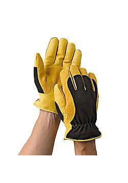 Gold Leaf Winter Touch Gardening Gloves Ladies