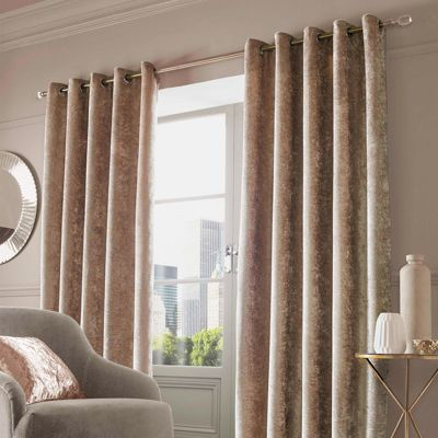 room for insulated rod darkening brown bedroom gold dp amazon com thermal pocket curtains drapes velvet