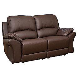 Sofa Collection Reggio Reclining Sofa - 2 Seat - Brown