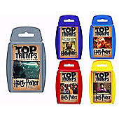 Harry Potter Top Trumps Gift Set - 5 Packs Included
