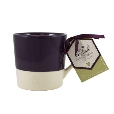 English Tableware Co. Artisan Mug, Blackcurrant