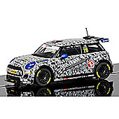 SCALEXTRIC Slot Car C3873 BMW Mini Cooper F56, Mini Challenge 2016