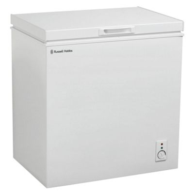 russell hobbs rhcf150 chest freezer 146l capacity white - Chest Freezers On Sale