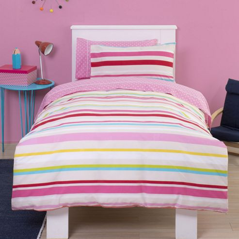 pink striped bedroom buy pink stripe junior bedding set from our duvet covers 12883