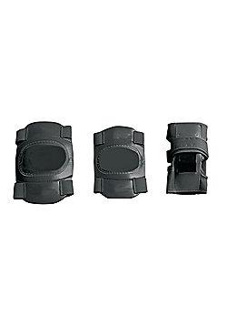 Elbow, Wrist and Knee Pad Set in Black