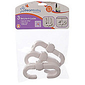 Dreambaby Secure-A-Locks Pack of 3