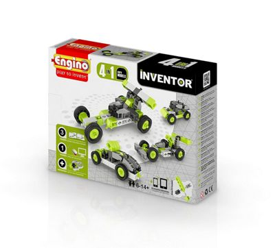 Engino Inventor 4 in 1 Model Car