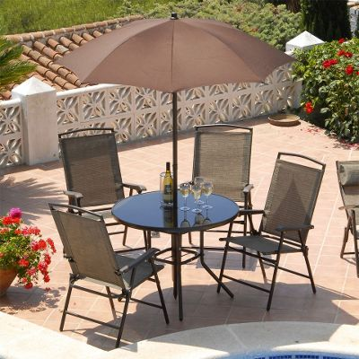 Suntime Havana Bronze 4 Seat 90cm Round Patio Set. Buy Suntime Havana Bronze 4 Seat 90cm Round Patio Set from our