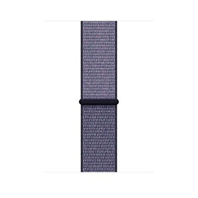 Apple MQWF2ZM/A Band Blue Nylon 42mm Midnight Sport Loop