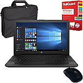 "HP 250 G5 - X0Q77ES#ABU - 15.6"" Laptop Intel Core i7-6500U with Bullguard Internet Security, Case and Mouse"