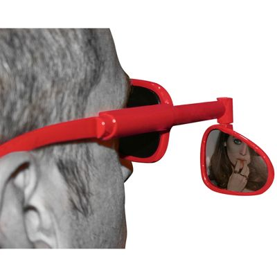 Red Wing Mirror Glasses