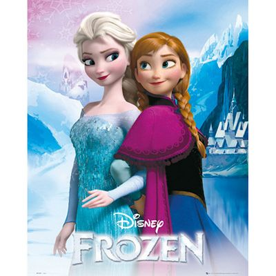 Disney Frozen Anna & Elsa Mini Poster